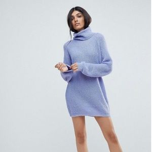 NWT ASOS Vero Moda Periwinkle Sweater Dress